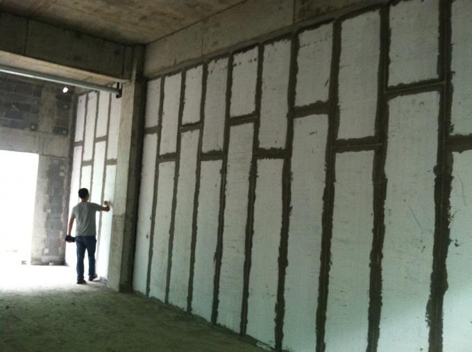 Fire Resistance Lightweight Interior Wall Panels Partition Wall Board 4.0MPa