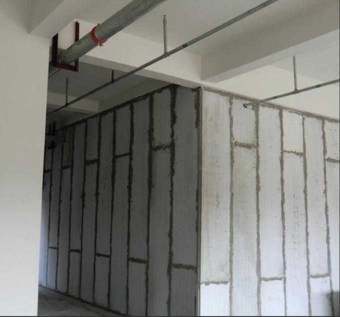 Hollow Core Lightweight Partition Walls , Customized Prefabricated Wall Panels