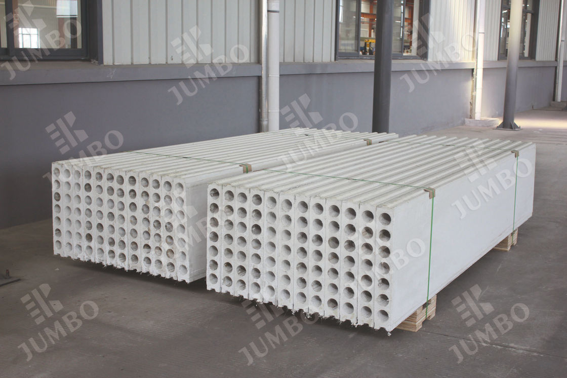 Lightweight Special Concrete Hollow Core Wall Panels Prefabricated Interior Walls