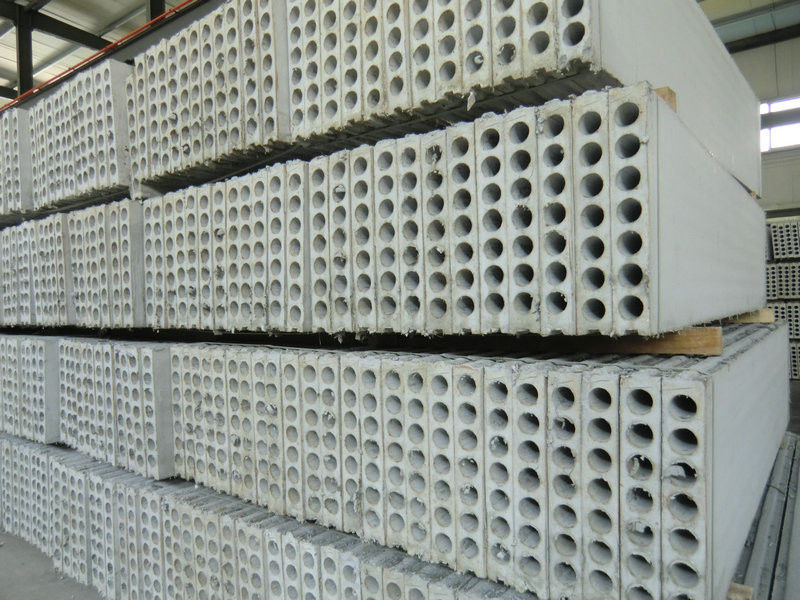 Construction Building Hollow Core Wall Panels Interior