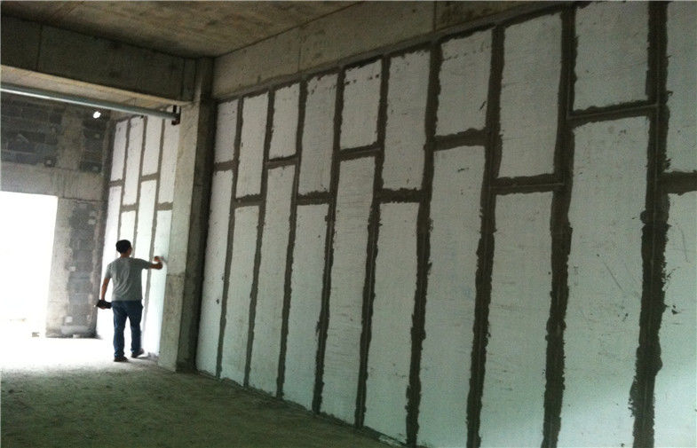 High density industrial prefabricated partition walls for Fireproof wall insulation