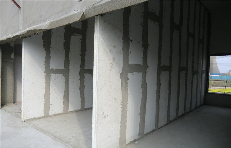 structural insulated hollow core mgo prefabricated interior wall panels