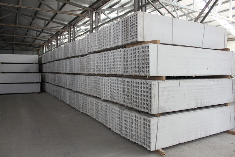 Fire Resistant Fiber Hollow Core Precast Concrete Floor Panels Partition Wall Board