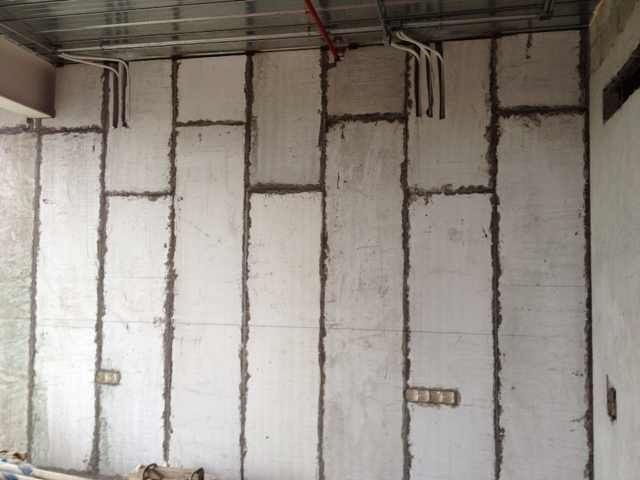 Beautiful Soundproof / Wetproof Prefabricated Interior Partition Wall Panels / Boards